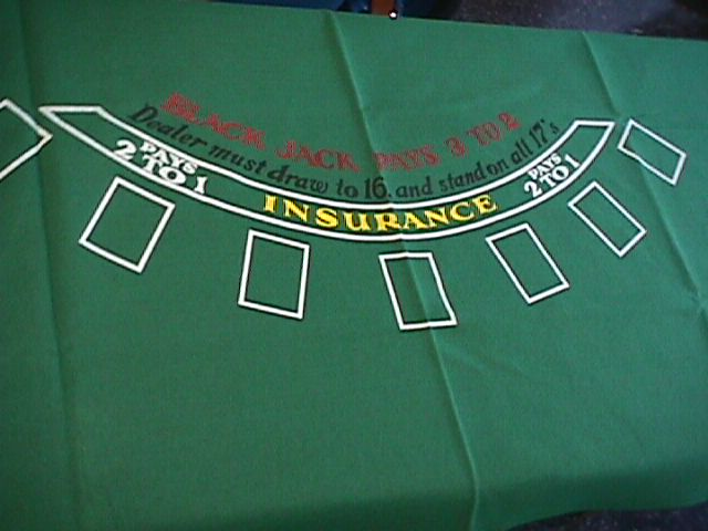 Blackjack or craps table layouts taylor rental ocala for 12 foot craps table for sale