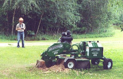 Stump Grinder, Hydraulic