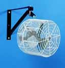 Fan, 12 pole mounted
