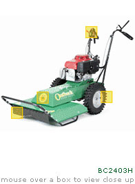 "Mower, 26"" Rough Terrain"